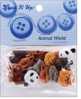 Dress It Up Embellishments Animal World
