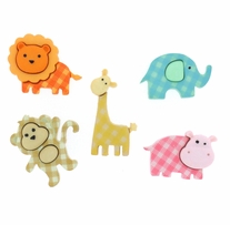 Dress It Up Embellishments Baby Safari