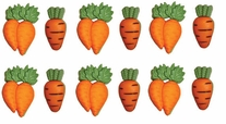 Dress It Up Embellishments Carrot Crop