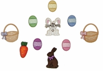 Dress It Up Embellishments Easter Basket