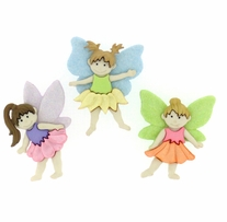 Dress It Up Embellishments Flower Fairies