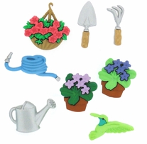 Dress It Up Embellishments Gardening