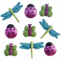 Dress It Up Embellishments Glitter Bugs