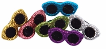 Dress It Up Embellishments Glitter Sunglasses