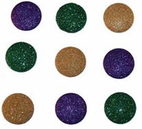 Dress It Up Embellishments Large Glitter Dots
