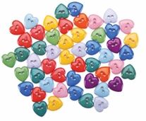 Dress It Up Embellishments Mini Simple Hearts