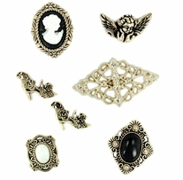 Dress It Up Embellishments Nostalgic Treasures