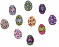Dress It Up Embellishments Painted Eggs