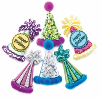 Dress It Up Embellishments Party Hats