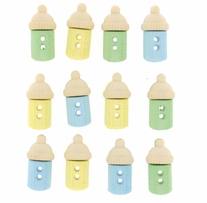 Dress It Up Embellishments Sew Cute Baby Bottles Boy