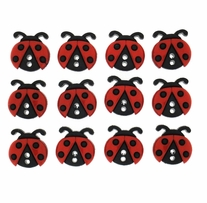 Dress It Up Embellishments Sew Cute Ladybugs