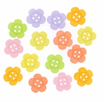 Dress It Up Embellishments Sew Cute Sherbert Flowers