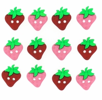 Dress It Up Embellishments Sew Cute Strawberries