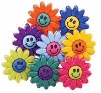 Dress It Up Embellishments Smiley Flowers