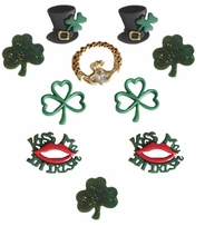 Dress It Up Embellishments When Irish Eyes Are Smiling