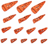 Dress It Up Holiday Embellishments Carrot Noses - Click to enlarge