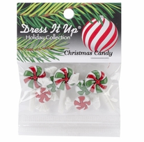 Dress It Up Holiday Embellishments Christmas Candy