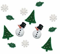 Dress It Up Holiday Embellishments Christmas Past