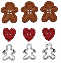 Dress It Up Holiday Embellishments Gingerbread Cookies