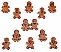 Dress It Up Holiday Embellishments Gingerbread People