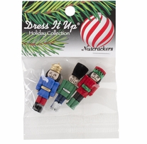 Dress It Up Holiday Embellishments Nutcrackers