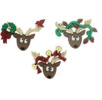 Dress It Up Holiday Embellishments Oh Deer