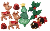 Dress It Up Holiday Embellishments Reindeer Games