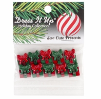 Dress It Up Holiday Embellishments Sew Cute Presents