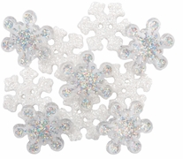 Dress It Up Holiday Embellishments Sparkle Flakes