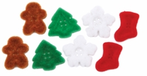 Dress It Up Holiday Embellishments Stocking Stuffers