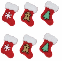 Dress It Up Holiday Embellishments Stockings