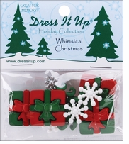 Dress It Up Holiday Embellishments Whimsical Christmas