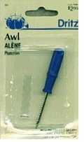 Dritz Nickel Plated Awl 3in
