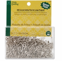 Dritz Quilting Curved Basting Pins Size 1