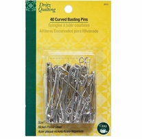 Dritz Quilting Curved Basting Pins Size 3
