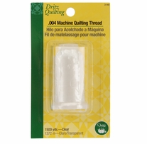 Dritz Quilting Machine Quilting Thread 1500 Yards Clear