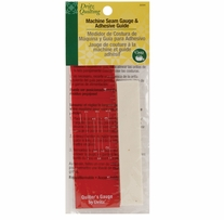 Dritz Quilting Machine Seam Gauge and 1/8in Adhesive Seam Guide