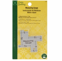 Dritz Quilting Measuring Gauge 14 In 1