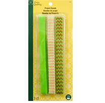 Dritz Quilting Project Bands Olive 3/Pkg