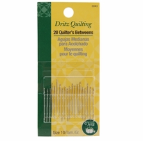 Dritz Quilting Quilter's Betweens Needles Size 10