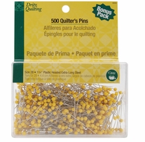 Dritz Quilting Quilter's Pins Econo Pack 1-3/4in