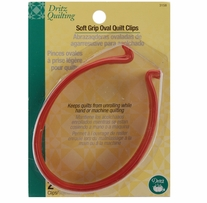 Dritz Quilting Soft Grip Oval Quilt Clips