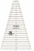 Easy Fat Cats Quilting Ruler