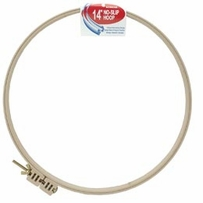 Embroidery Hoop Plastic No-Slip 14in