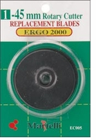 Ergo 2000 Rotary Cutter 45mm Replacement Blades 1/Pkg