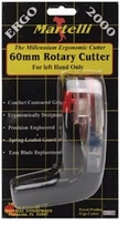 Ergo 2000 Rotary Cutter 60mm Left Hand