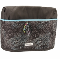 Everything Mary Quilted Sewing Machine Cover Turquoise & Chocolate