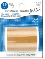 Extra Strong Jean Thread Golden #N574