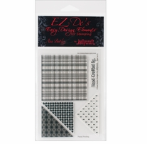EZ-De's Clear Stamps 4X6 Sheet-Star Set A