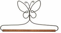 Fabric Holder With 7 1/2in Dowel Butterfly